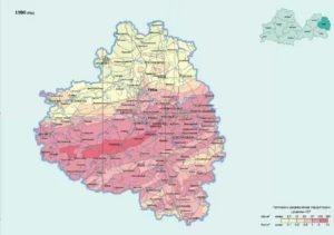 Чернобыль Зона Заражения Карта Рязанской Области