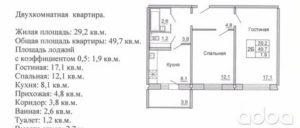 Расчетная площадь квартиры это