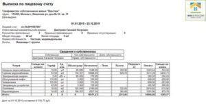 Справка о финансовом состоянии лицевого счета жкх