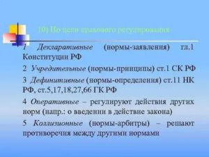 Пример нормыдефиниции в конституции рф