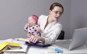 Рабочий день женщины с ребенком до 3 лет