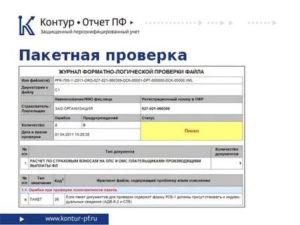 Контур онлайн проверка пфр