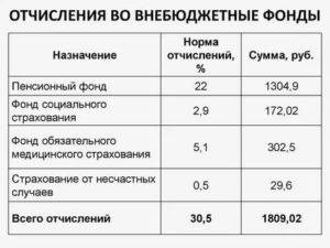 В Какие Фонды Идут Отчисления С Зарплаты