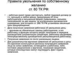 Статья 80 трудового кодекса рф 2019 без отработки по другим случаем