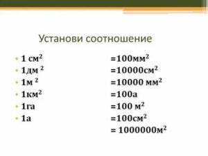 1 кв метр чему равен