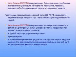 Статья 228 Часть 1 3 Пункт