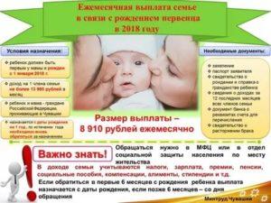 Программа рождение ребенка в первый год брака