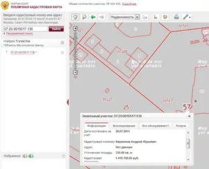 Условные обозначения на публичной кадастровой карте