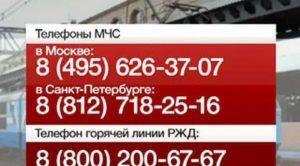 Горячая линия ржд телефон москва для пассажиров