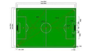 Сколько футбольное поле гектар