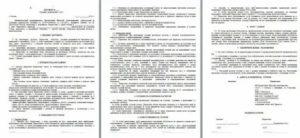Пример договора между ооо и ооо