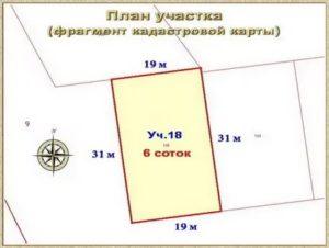 7 соток размер участка в метрах