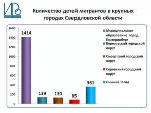 Статистика дети мигранты в россии