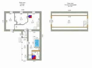 Техплан на дом образец 2019