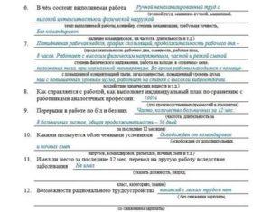 Производственная характеристика грузчика для мсэ образец заполнения 2019