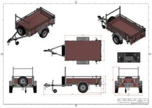 Прицепы для легковых автомобилей сварить размеры и материал