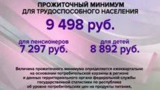 Прожиточный минимум в башкирии на 2019 год для пенсионеров и детей